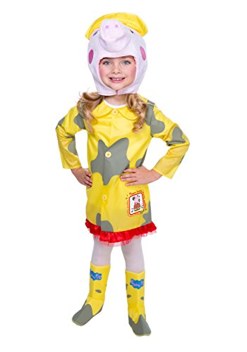 LF Products Pte. Ltd dba Palamon International girls Peppa Pig Raincoat Costume - Lf Clothing