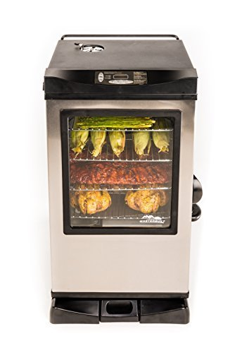 Masterbuilt 20077515 Front Controller Electric Smoker With Window And Rf Controller  30 Inch By Masterbuilt  Import  Yantain Port  Factory A