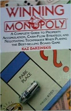 amazon winning monopoly a complete guide to property accumulation