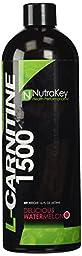 NutraKey Liquid L-Carnitine Watermelon Flavor, 16 Ounce