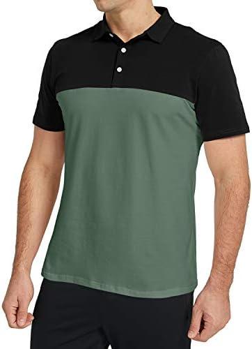 Fit Long Sleeve Polo Golf Shirt