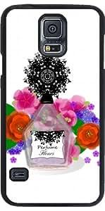 Funda para Samsung Galaxy S5 (SM-G900) - Flores De Perfume Elegante by Blingiton