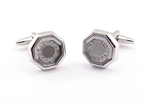 ToJoy cristal Gemelos/Mancuernas octogonales/mancuernas de la ...