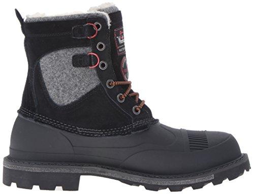 Woolrich Mens Helt Wooly Spets Snö Boot Svart
