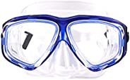 Diving Mask Dive Snorkel Nearsighted Prescription RX Optical Corrective Lenses Customized
