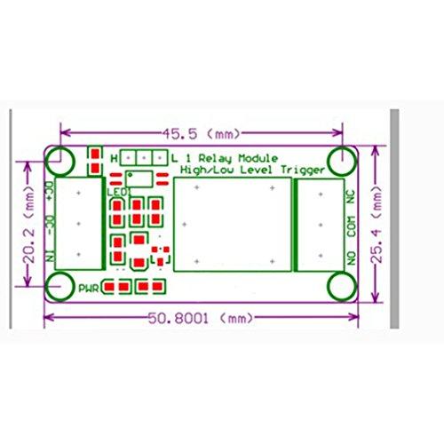 B Baosity 2Pcs High Power MOS FET DC 5V-36V Trigger Switch Driving Module PWM Regulator Control Panel
