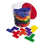 Learning Resources Rainbow Premier Pentominoes Set of 6