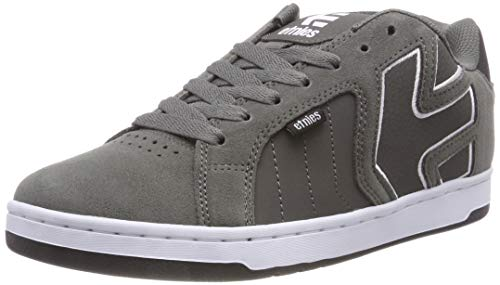 etnies Men Fader 2 Skate Shoe, Dark Grey/Black/White, 11 Medium US