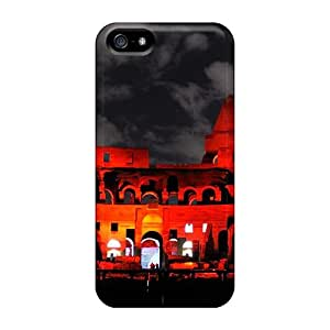 Hot XKmGZgu3121iFKtr Red Rome The Colosseum City Architecture Tpu Case Cover Compatible With Iphone 5/5s