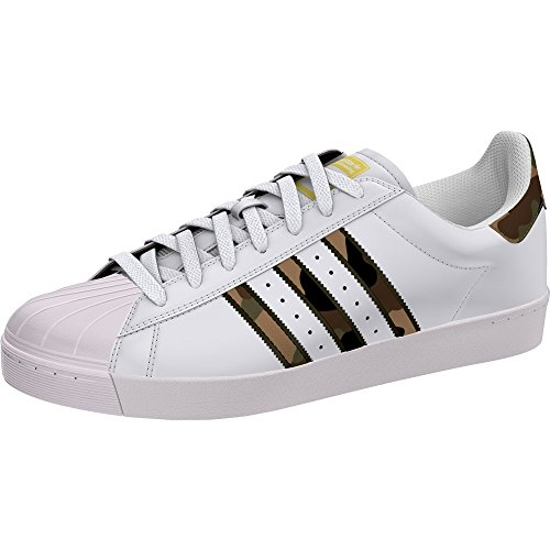 adidas Superstar Vulc ADV Trace FTW White/Brown/Gold Zapatillas