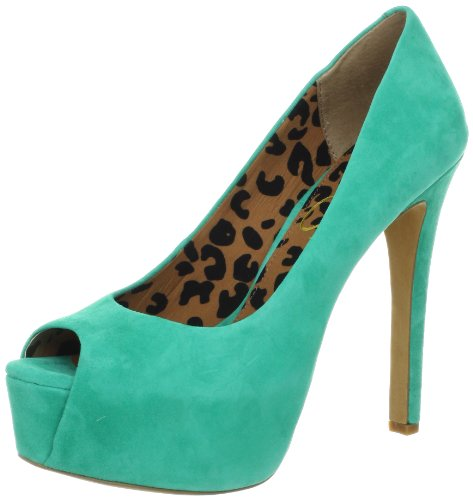 - Jessica Simpson Women's JS-Carri, Palmetto Green Kid Suede, 6.5 M US