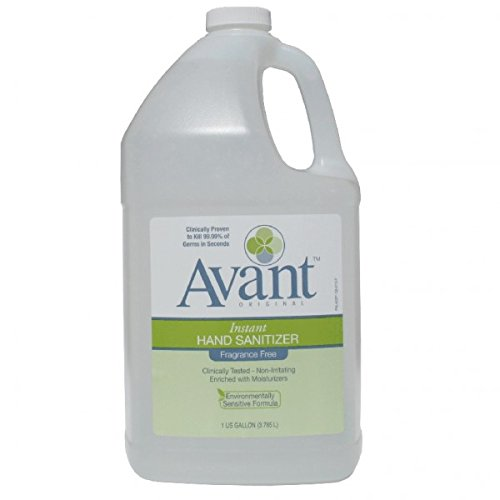 Gallon Bottles of Avant Original Hand Sanitizer - Case of 4 by Avant