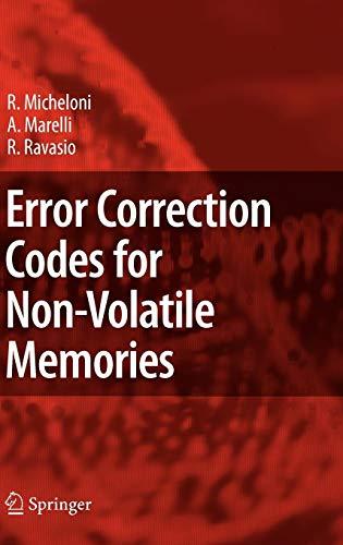 System Ecc Memory (Error Correction Codes for Non-Volatile Memories)