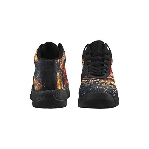 D-story Zombie Ögonbasketskor Löparskor Ökar Sneakers