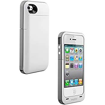 Mophie 2,000mAh Juice Pack 'Plus' Battery Case for Apple iPhone 4/4s - Gray (Certified Refurbished)