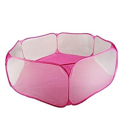 Hrph Portable Pliant Hexagone Fosse Piscine à Boule Océan Tente à Balle Jouet Jeux de Balles Bébé Enfants