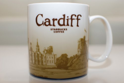 Starbucks Global Icon Collection Cardiff United Kingdom 16 Oz