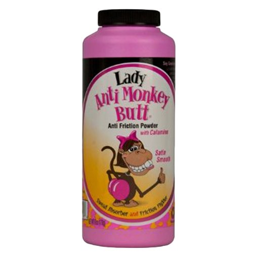 DSE Lady Anti-Monkey Butt Powder, 6 Count