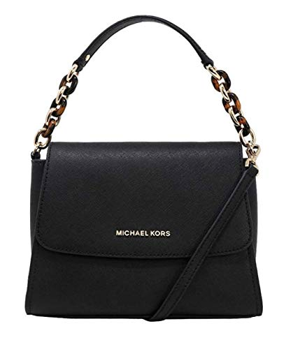 Michael Kors Sofia Portia Small East West Satchel Crossbody Bag In Black