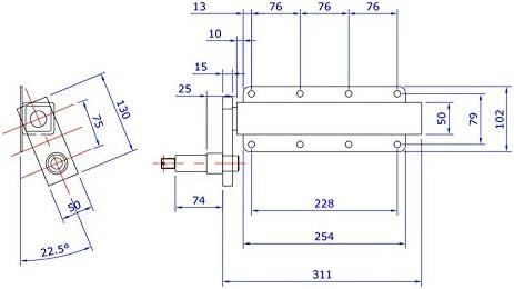 500kg remolque Unidades de suspensión independiente con hubs PAR TRSP30/_33
