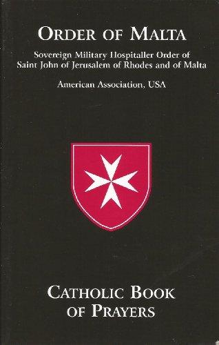 Catholic Book of Prayers - Order of Malta (Large Print)