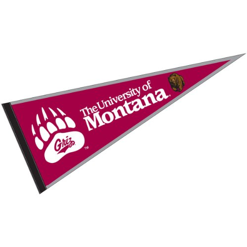 University Ncaa College Pennant (University of Montana Pennant Full Size Felt)