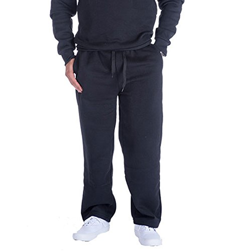 Gary Com Mens Sweatpants Joggers Athletic Fleece Workout Sweat Pants with Pockets for Men Active Running Yoga Wear (XXL, Black)
