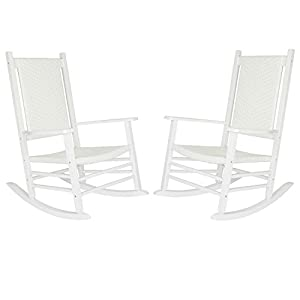 Hampton Porch Rocker Set of 2 - White
