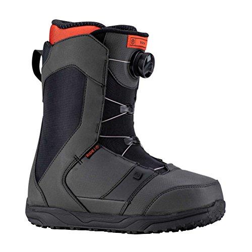 Ride Rook Snowboard Boots Black Mens Sz 11