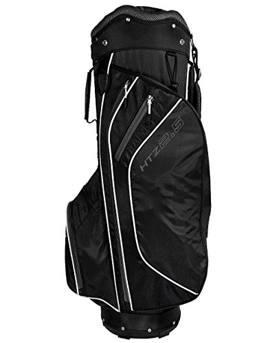 Hot-Z 2017 Golf 2.5 Cart Bag, Black/White