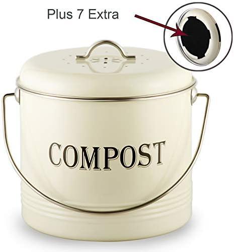 Bin Indoor Container lid Flies Countertop Recycling product image