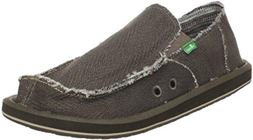 Sanuk Men's Hemp Loafers & Oxy Shoe Cleaner Bundle Olive perfect sale online marketable sale online VmPZWKXWu