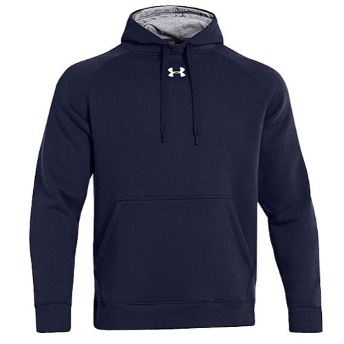 Under Armour Men's UA Every Team Fleece Hoodie - Small - Navy Blue (Navy Blue Polo Hoodie)