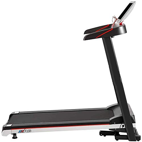 Folding Treadmill Electric Walking Running Exercise Fitness Machine with LCD Display Easy Control for Home