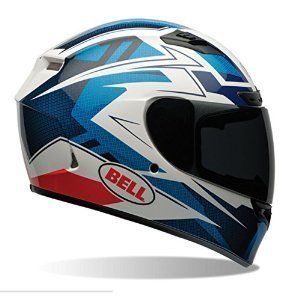 Helmet Face Profile Full (Bell Qualifier DLX Full-Face Motorcycle Helmet (Clutch Blue, Medium)(Non-Current Graphic))