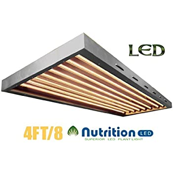 This item AIBC SuperT 4Ft 8Tb. T5 160W LED Grow Light Panel, optimized LED full spectrum for plant, replace traditional T5 fluorescent grow tubes, ...