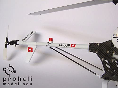 Rumpfbausatz Fuselage Kit Hughes 300C für T-Rex 450 oder andere 450er Helis