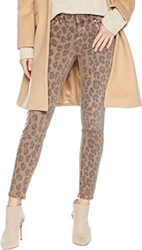 [BLANKNYC] Blank Denim Women's Leopard Print Skinny Jeans, Catwalk, 29