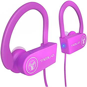 Best Wireless Earbuds For Running Workout Noise Cancelling Sweatproof Cordless Headset For Gym Use True Beats Earphones W Mic Iphone Android Pink