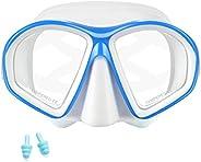 Supertrip Kids Snorkel Mask-Scuba Diving Goggles Anti-Leak Snorkeling Freediving Mask Easybreath Tempered Glas