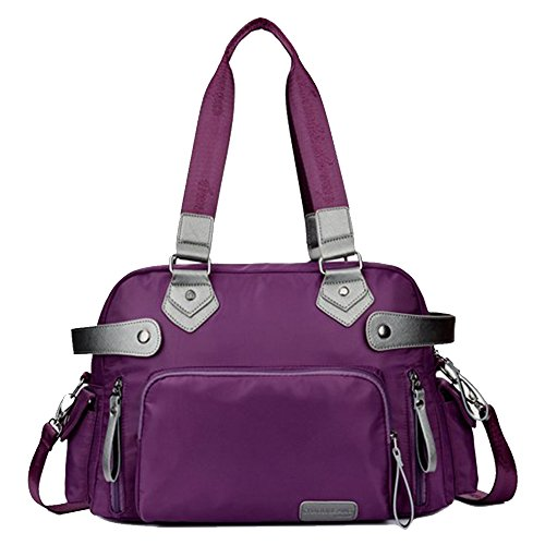Large Shoulder Bag Waterproof Nylon Travel Bag Handbags Cross Body Big Capacity Weekender Bags for Men and Women