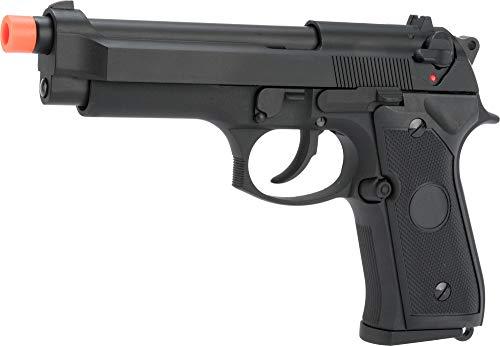 Evike Matrix Elite Tokyo Marui Reproduction M9 Gas Blowback Airsoft GBB Pistol (Color: Black/Full Metal) (Best Tokyo Marui Gbb Pistol)