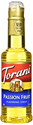 Torani Syrup, Passion Fruit, 12.7 Fluid Ounce
