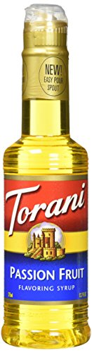 Fruit Flavored Beverage - Torani Passion Fruit Syrup 12.7 ounce