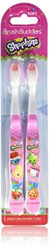 Brush Buddies Shopkins 2 Pack Toothbrush