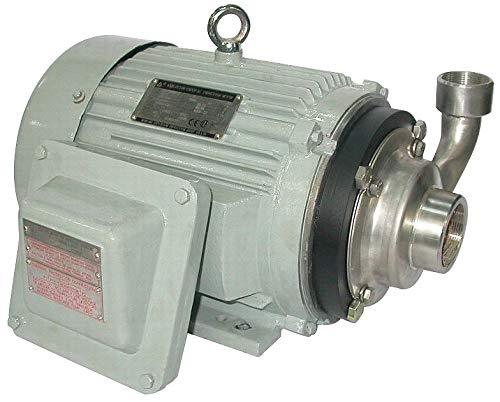 Dayton 316 Stainless Steel 3 HP Centrifugal Pump, 3 Phase, 208-230/460 Voltage - ()