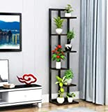 WEHOLY Beautiful Standing flower shelf .Living room & balcony Plant shelf flower pot stands with wood plant