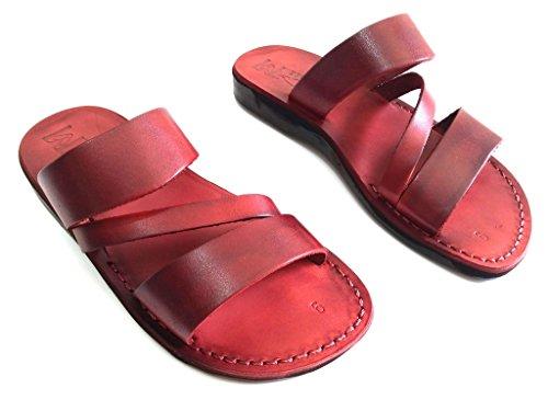 Leren Sandalen Voor Heren Te Koop Flip Flops Grieks Mooi Comfortabel 11 Kleuren Griekenland Stijl Van Sandalim Bruin