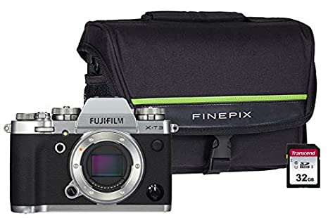 Fujifilm X-T3 Silver 4K CSC Kit de cámara Incluye Tarjeta SD ...