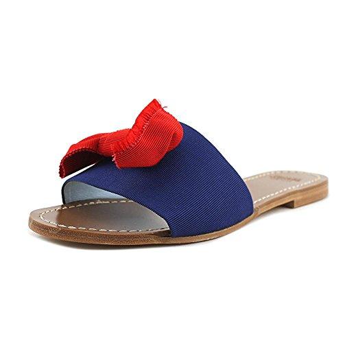 Red Judy Womens Frances Sandal Frances Valentine Slide Blue Valentine qw8a1nz